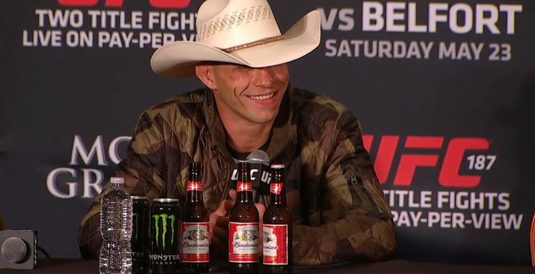 mma fighter alcohol