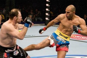 Brandon Vera putting on a striking clinic.